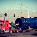 Agglomeration Drum arriving into Bullhead City